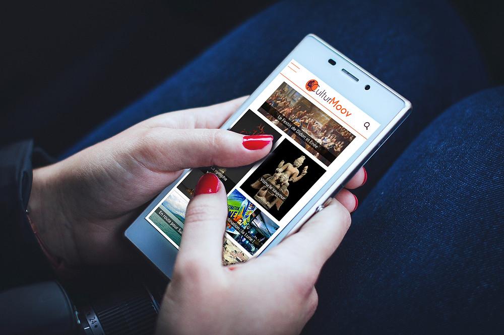 CulturMoov sur votre mobile !