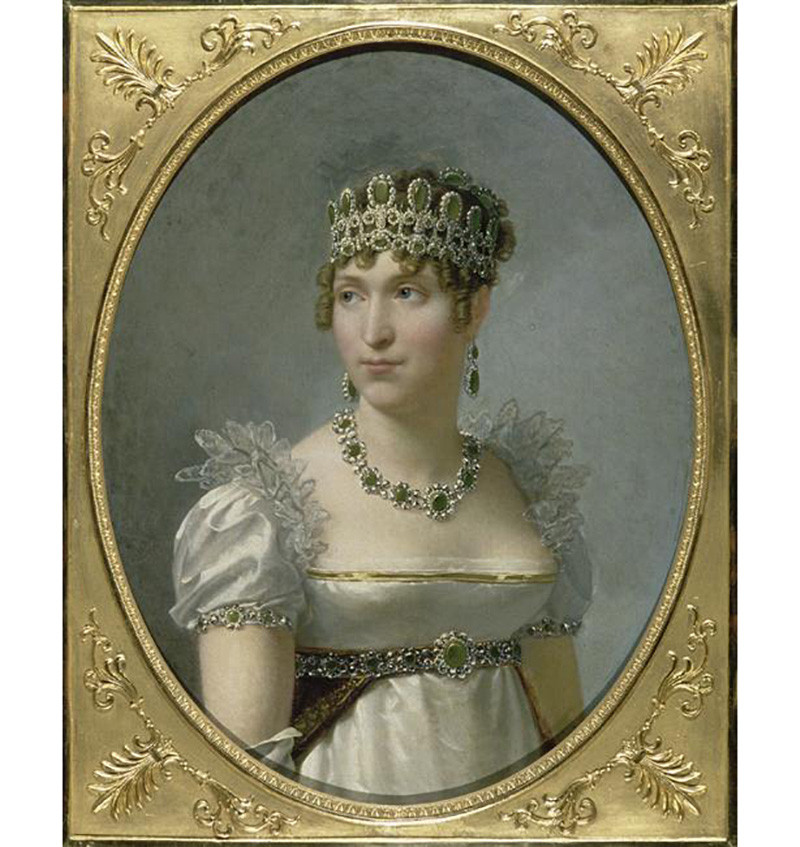Hortense de Beauharnais (1783-1837) - Jean-Baptiste Regnault