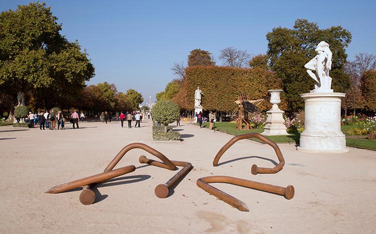 Exposition extérieure au Jardin des Tuileries