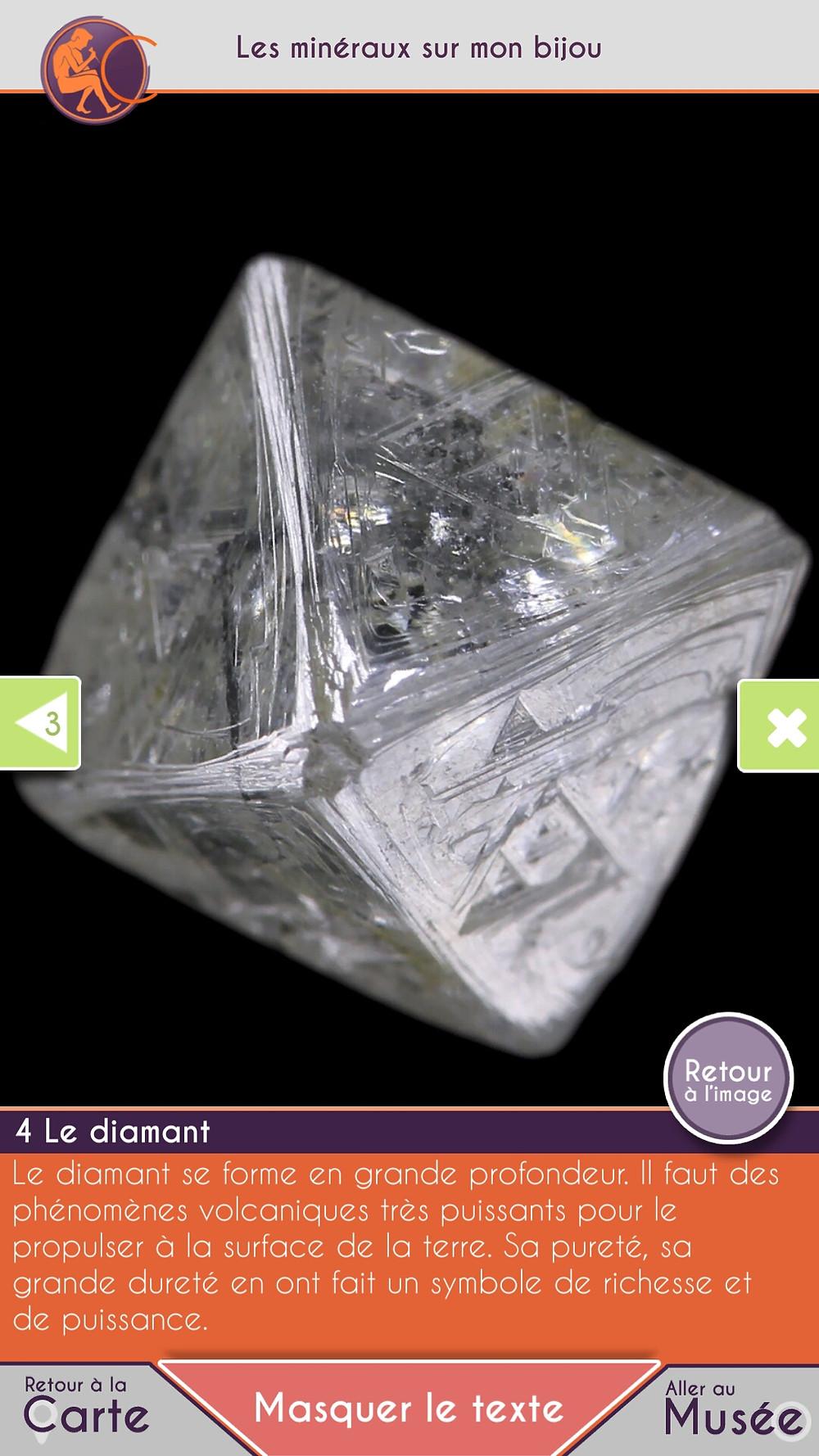 Diamant et minéraux du Musée de Minéralogie Mines ParisTech