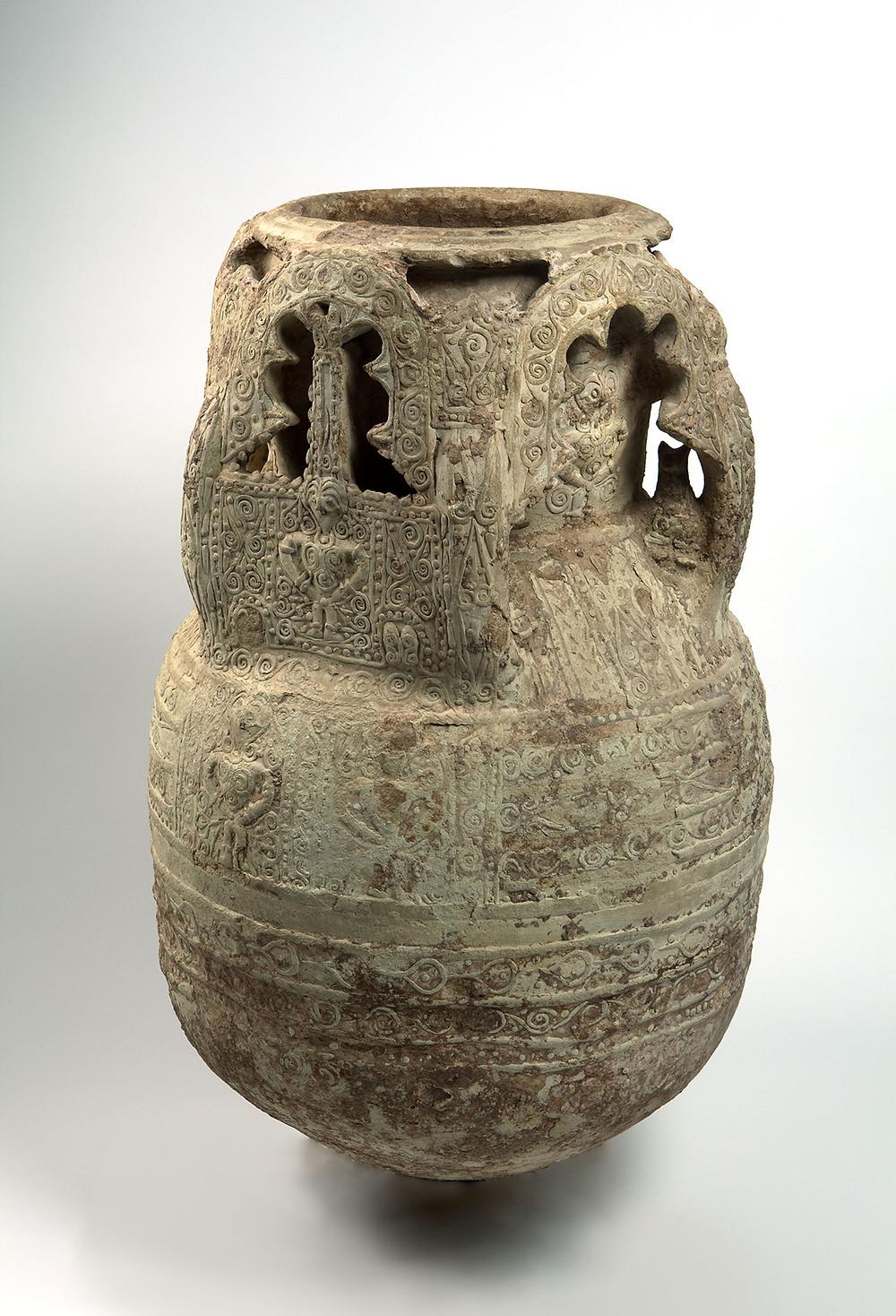 Jarre, Syrie - 12è, 13è siècle / © Hamid Belmenouar et Pierre-Olivier Deschamps