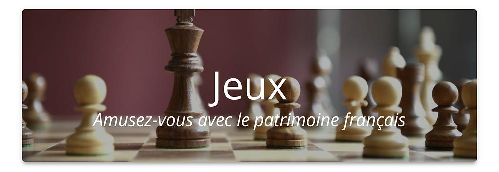 """Bouton """"Jeux"""""""