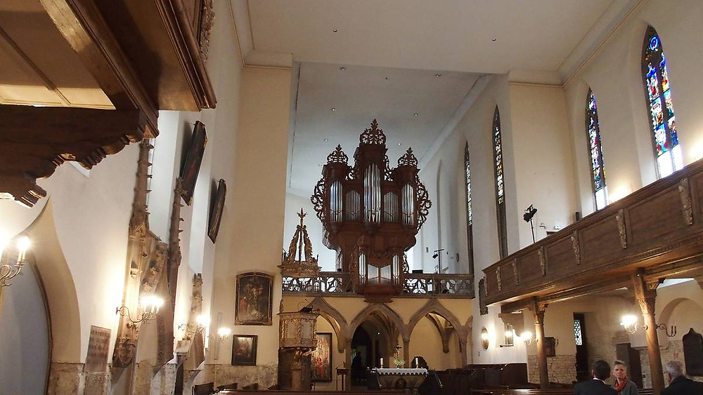 Intérieur de l'église Saint Guillaume