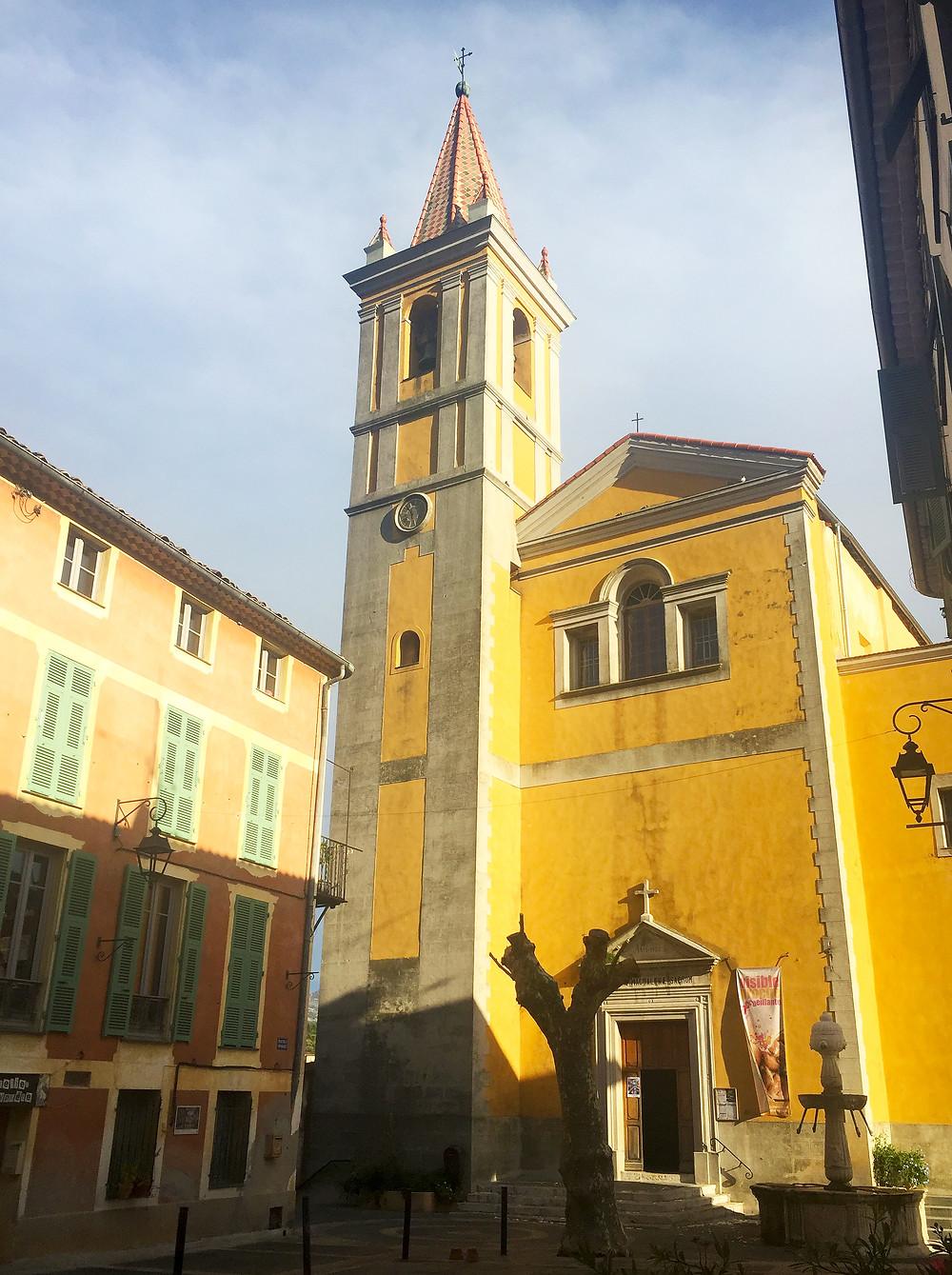 Église Sainte Marie Madelaine de Contes