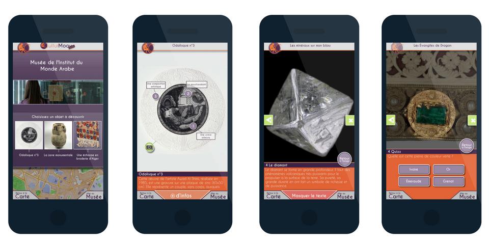 Vous souhaitez valoriser vos collections et lieux du patrimoine sur l'appli CulturMoov ? Contactez-nous !