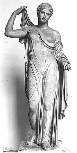Aphrodite Génitrix au Louvre