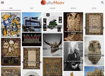 CulturMoov est aussi disponible depuis votre navigateur