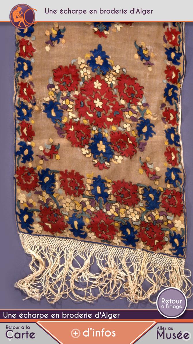 La beauté originale à l'ère de la fabrication en série : l'écharpe tanchifa