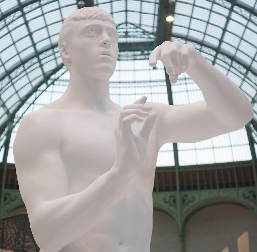 Sculpture réalisée par Stéphane Simon