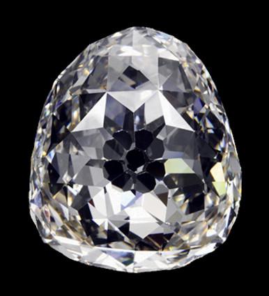 Diamant Le Beau Sancy  Licence Creative Commons Attribution - Partage dans les mêmes conditions 3.0 non transposés (C.C. BY-SA 3.0)