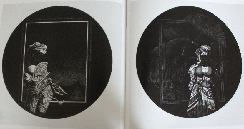 Aquatintes « Odalisque 11″ et « Odalisque 21″, 1984, Institut du Monde Arabe