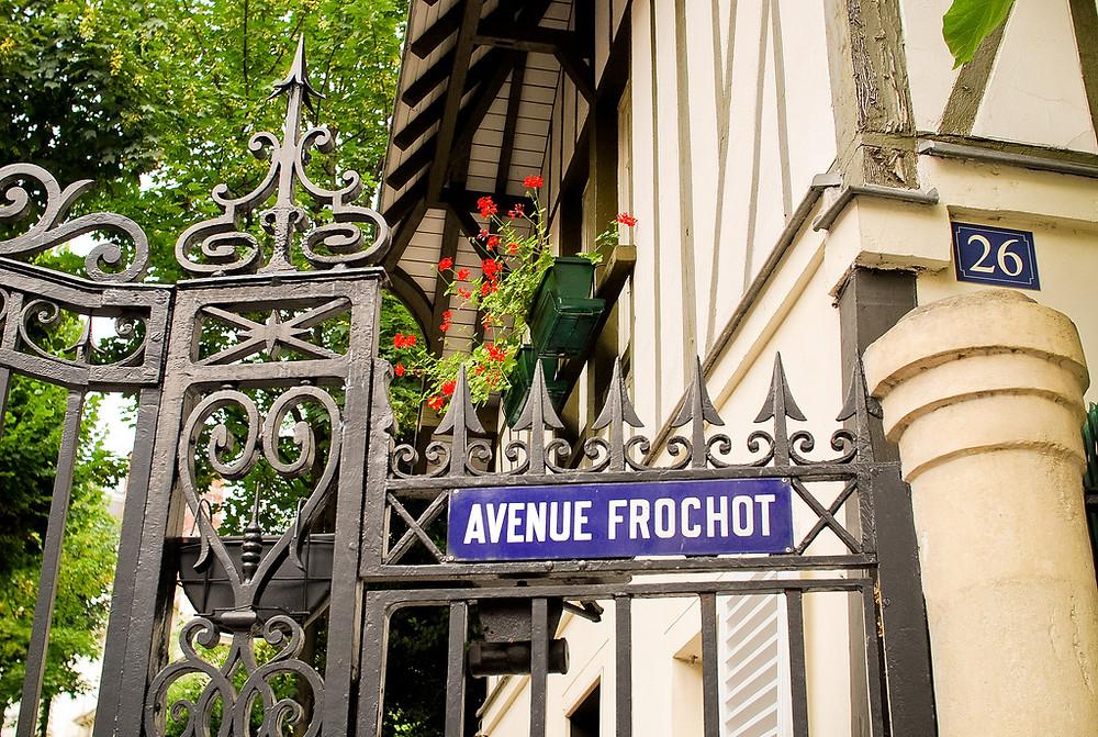 Grille de l'avenue Frochot