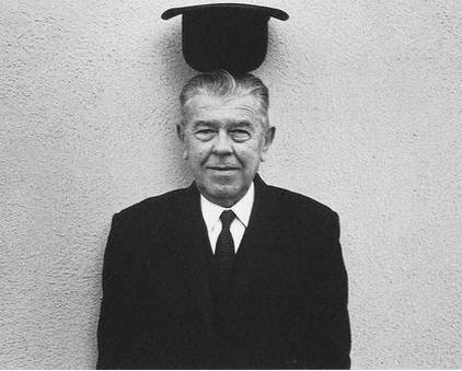 René Magritte par Lothar Wolleh