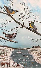 2)Trois oiseaux sur une branche IMG_0692