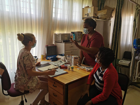 First patients enrolled in SMA-TB CT in South African sites