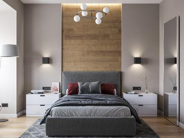 Дизайн интерьера квартиры 56м2