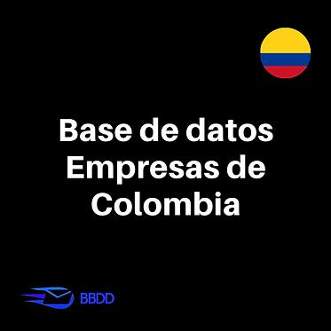 Base de datos empresas Colombianas