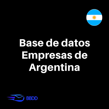 Base de datos empresas Argentinas
