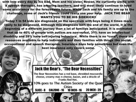 "Jack the Bear's ""The Bear Necessities"""