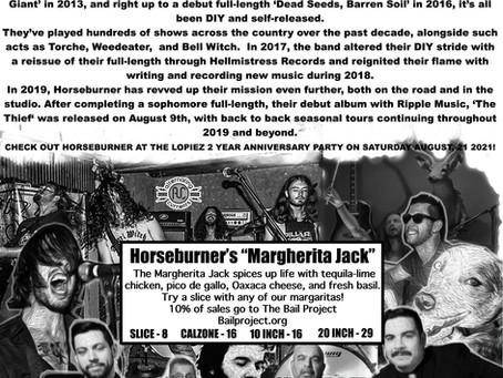 """HORSEBURNERS """"MARGHERITA JACK"""""""