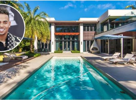 El cantante Ozuna se compra una gigantesca mansión en Miami por 5 millones de dólares.