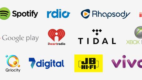Los mejores servicios de Distribución de Música.