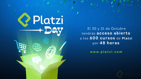 Platzi Day: las 48 horas de libre acceso a Platzi que cambiarán la vida de miles de personas