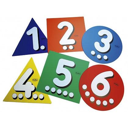 Circuito números para saltar