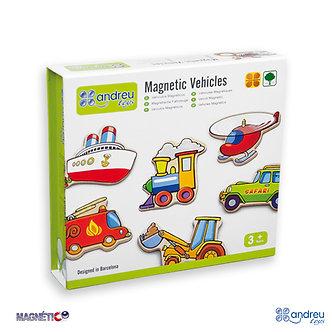 20 veículos magnéticos