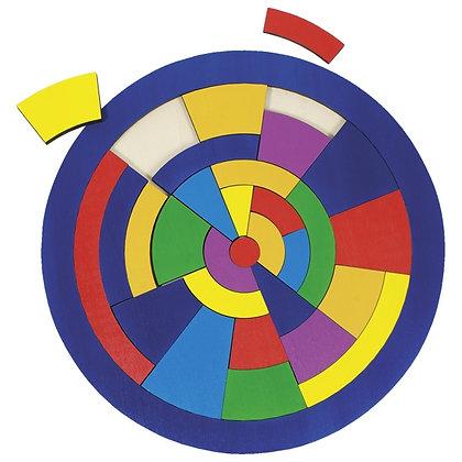 Puzzle circular quebra cabeça