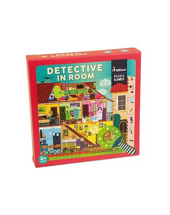 Puzzle detetive no quarto
