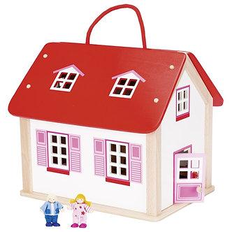 Casa com acessórios