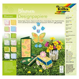 Papel design flores
