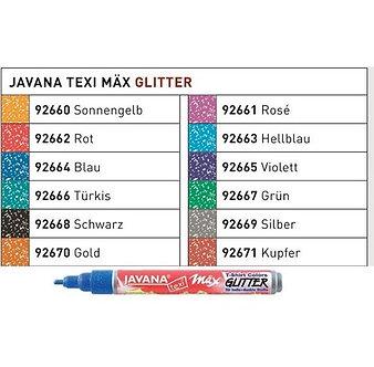 Caneta Textil Glitter