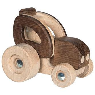 Trator em madeira
