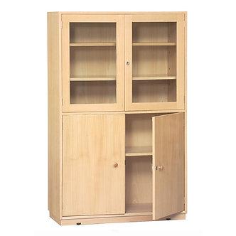 Armário Vitrine em madeira