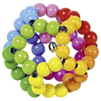 Bola Arco-íris com anel elástico