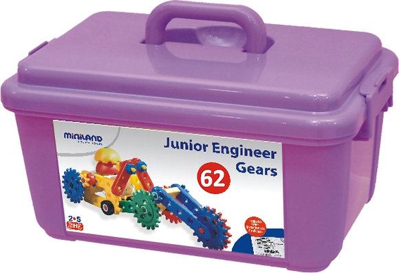 Pequenos engenheiros - engrenagens