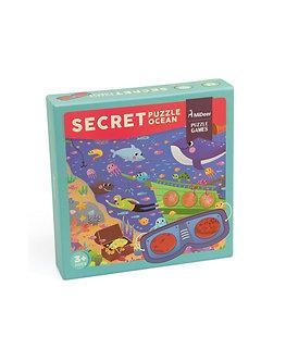 Puzzle secreto no espaço