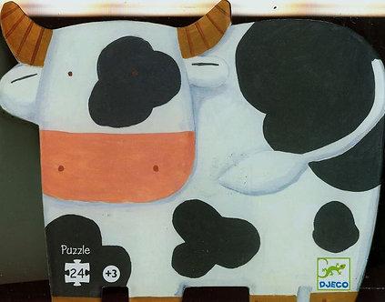 As vacas na quinta