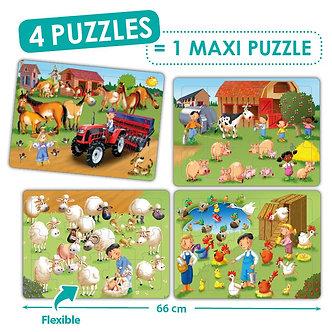 Maxi Puzzles cooperativos - A quinta
