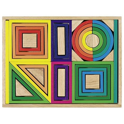 Jogo de construção Arco íris