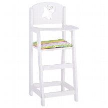 Cadeira alta para bonecos