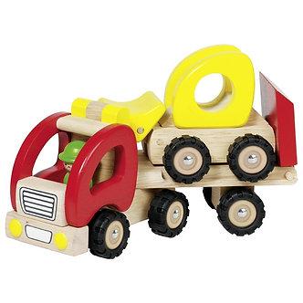 Camião com reboque