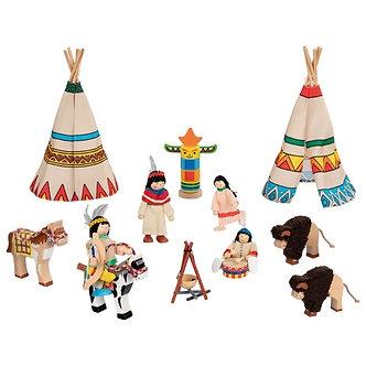 Acampamento indígena