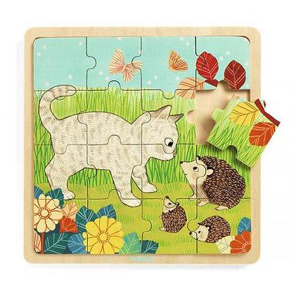 Puzzle o jardim