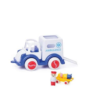Ambulância com 2 figuras