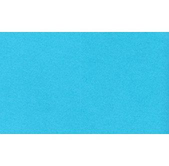 Cartolina Irís cor azul turquesa