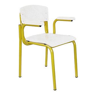 Cadeira do aluno com braços