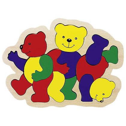 Puzzle 3 ursos
